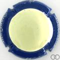 Champagne capsule A1.cheulu Crème, contour bleu