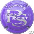 Champagne capsule 14 Violet et argent