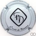 Champagne capsule 2.d Argent et noir
