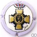 Champagne capsule 14.a Médaille du combattant, PALM