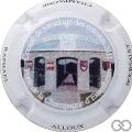 Champagne capsule 1.a Polychrome, petite écriture sur la jupe