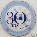 Champagne capsule A20.a 30 ans  Autisme, contour bleu pâle