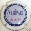 Champagne capsule A21 Albiparc 25 ANS