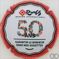 Champagne capsule 121 50 ans de Rungis