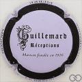 Champagne capsule 54.g Mauve pâle, cercle noir