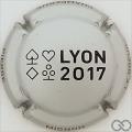 Champagne capsule 101 Lyon 2017, argent