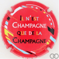 Champagne capsule 8 Fond rouge