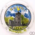 Champagne capsule 34.a Burcht Herzele, coloré par Rudy vannieuwenhove