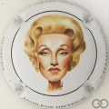 Champagne capsule A21 Marlène Dietrich