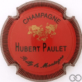 Champagne capsule 1 Rouge, striée