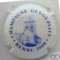 Champagne capsule 3 Blanc et bleu