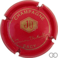 Champagne capsule 6 Rouge et or