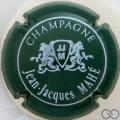 Champagne capsule 9.a Vert et blanc