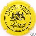 Champagne capsule 8 Jaune et noir