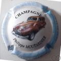 Champagne capsule 15.b 3/6 4ème série Voiture 2008 fond blanc