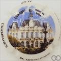 Champagne capsule 95 Porcelaine, Hôtel de ville Limoges