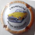 Champagne capsule 15 1/6 4ème série Voiture 2008 fond blanc