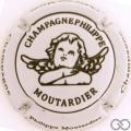 Champagne capsule 29.n Gris clair et noir