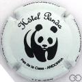 Champagne capsule  Hôtel Panda
