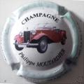 Champagne capsule 15.d 5/6 4ème série Voiture 2008 fond blanc