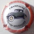 Champagne capsule 15.a 2/6 4ème série Voiture 2008 fond blanc