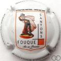 Champagne capsule  Fond blanc