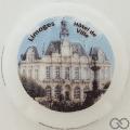 Champagne capsule 95.a Porcelaine jéroboam, Hôtel de ville Limoges