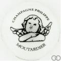 Champagne capsule 30.c Porcelaine nacrée