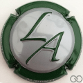 Champagne capsule 6.a Estampée, contour vert