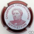 Champagne capsule 41 Contour bordeaux