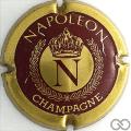 Champagne capsule 3 Or et bordeaux