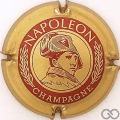 Champagne capsule 5.a Or pâle et bordeaux
