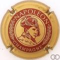 Champagne capsule 5 Or et bordeaux