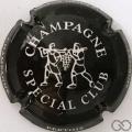 Champagne capsule 9 Noir, Spécial Club