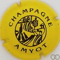 Champagne capsule 2 Jaune et noir