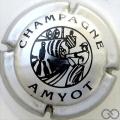 Champagne capsule 7 Métal et noir