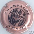 Champagne capsule 1 Rosé et noir