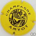 Champagne capsule 3 Jaune vif et noir