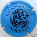 Champagne capsule 5 Bleu et noir