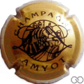 Champagne capsule 8 Or, logo différent