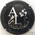 Champagne capsule 7.e Noir et argent