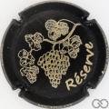 Champagne capsule 1 Noir mat et or