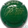 Champagne capsule 10.e Vert et or pâle