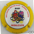 Champagne capsule 19.o Bonne Année 2021