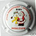 Champagne capsule 19.l Joyeux Noël 2020