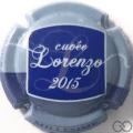 Champagne capsule 18.d Cuvée Lorenzo 2015