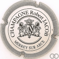 Champagne capsule 1 Blanc, striée