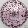 Champagne capsule 5 Rosé-violacé, striée