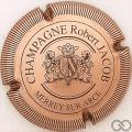 Champagne capsule 6 Cuivre, striée