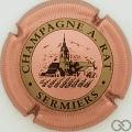 Champagne capsule 2 Rosé, striée